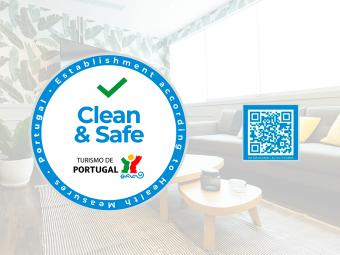 QR code Selo Clean Safe
